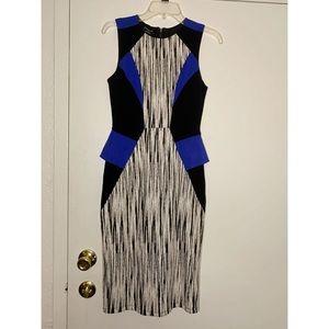 EUC Bebe panel pencil dress